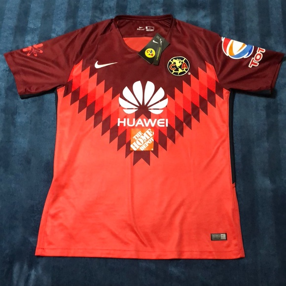 low priced b65a9 9c581 Nike Club America Soccer Jersey NWT